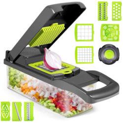 Mandolina de cocina Sawake con 8 cuchillas por 15,95€ antes 31,90€.
