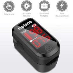 Pulsioxímetro de alta precisión con pantalla TFT LED por 4,42€.