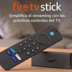 Nuevo Fire TV Stick 4K modelo 2.021 por 39,99€.