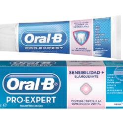 Pasta de dientes Oral-B Pro-Expert Sensibilidad y Blanqueamiento por 1,77€.
