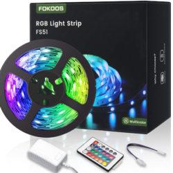 Tira de luces led RGB, 5M por 5,75€ desde España.