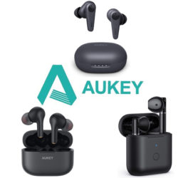 Nuevos modelos de auriculares TWS Aukey rebajados.