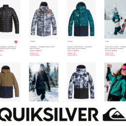 Chaqueta para nieve Quiksilver por 59,99€, antes 199,99€ y además 50% en todos los artículos Snow para niños, mujer y hombre ya rebajados.