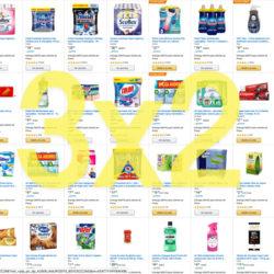 3x2 en una selección de 277 artículos de supermercado y droguería rebajados de Amazon