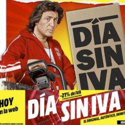 ¡Día Sin IVA en Mediamarkt! Aún online hasta las 9:00 de la mañana.