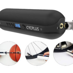 Mini hinchador eléctrico para ruedas de bici/coche, balones etc, powerbank y linterna led por 26,99€ antes 53,99€.