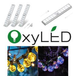 Ofertas en productos de iluminación OxyLED.
