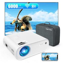 Proyector wifi/bluetooth, Toptro X2, FHD 1080p, 6000 lúmenes por 64,29€ antes 109,99€.