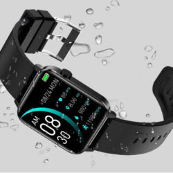 Smartwatch andfive, 8 modos deportivos, frecuencia cardíaca, presión arterial, oxígeno en sangre, IP68 por 11,99€ antes 35,99€.