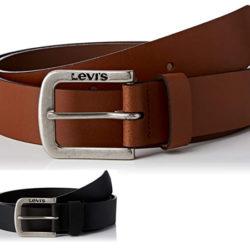 Cinturón de piel Levi's por sólo 12,71€ y negro por 15,94€. Prueba primero y paga después.