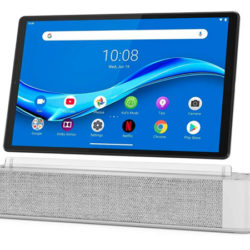 Lenovo Smart Tab M10 FHD Plus con Alexa por sólo 215 euros, con estación de carga por 164,45€ y sin ella por 123,13€.