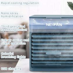 Ventilador/enfriador/humificador de aire por 28,99€ antes 41,41€.