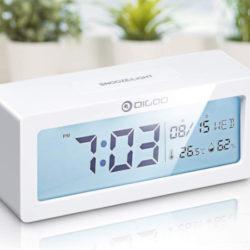Reloj despertador multifunción, temperatura, humedad, soonze por 7,69€ antes 21,99€.