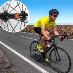 Velocímetro con sensor de cadencia para bicis moofit en color naranja o negro, BT/ANT+, IP67 por 9,69€.