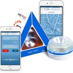 Luz de emergencia y señalización V-16 homologada para vehículos con Bluetooth por sólo 19,34€.