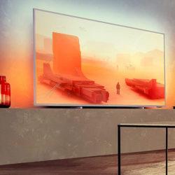 Televisor ultraplano Philips de 70'' 70PUS7855/12, Ambilight, 4K por 699,99€. Antes 999,00€. Y 58PUS7555/12, UHD 4K por 423,20€.