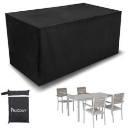 Funda de tela impermeable para muebles de jardín 200x160x70cm por 7,99€.