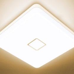 Plafónes LED 24W, 2700K, 2100LM/4000K o 5000K, IP54 por 11,99€ antes 23,99€.