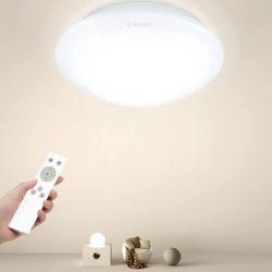 Lámpara de techo led ajustable, 24W, 2000 lumens, 3 temperaturas de color por 12,59€ antes 25,99€.