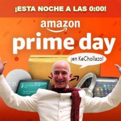Esta noche a las 0:00 horas comienza el Prime Day. Adelanto de ofertas del Prime Day este domingo a las 0:00h.