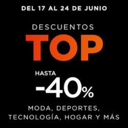 Descuentos TOP en El Corte Inglés en moda, deportes, tecnología y hogar.