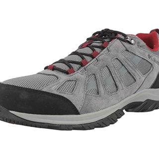 Zapatillas de senderismo Columbia Redmond III waterproof para hombre por 55,99€.
