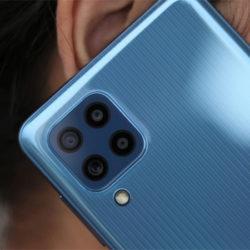 Samsung Galaxy M32 por 249 euros en Amazon, PVP 329,00€. Galaxy A41 por 189,00 y Galaxy M12 por 159,00€.