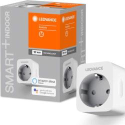 4 enchufes inteligentes con conectividad Wifi, compatibles con Alexa, Google Home LEDVANCE SMART con medición de corriente por 18,70€ con cupón de Amazon.