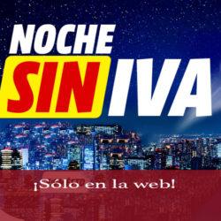 ¡Exclusivo online! Comienza la noche sin IVA en smartphones de Mediamarkt
