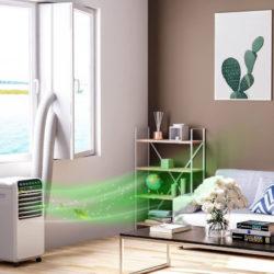 Sello de ventana de 400cm para aparatos de aire acondionado portátiles por 13,29€.