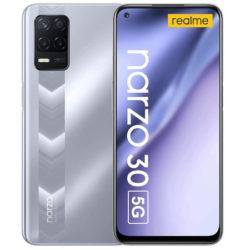 """Realme Narzo 30 5G, FHD+ 6.5"""", 4/128GB ampliable a 1TB, 5000mAh por 158,23€ antes 219€."""