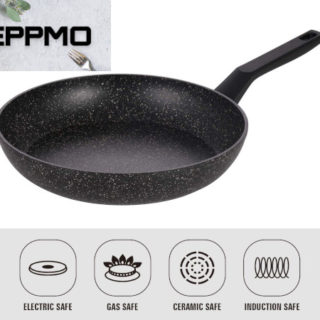 Sartén de aluminio forjado antiadherente de 20cm, todo tipo de cocinas sin teflón por 10,49€ antes 20,99€.