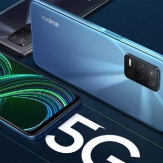 Realme 8 5G 4/64GB por 159€ y 6/128Gb por 221,67€, Realme C21 por 96 euros en Amazon. De nuevo en stock.