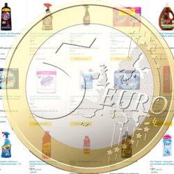 Ahorra 5 euros por cada 18 euros de compra en Vitroclean, Vanish, Finish, Flor, Calgon y otros.