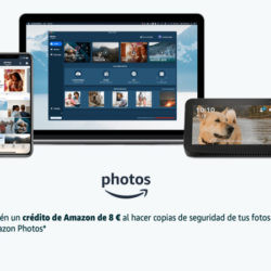 Recibe 8 euros de crédito en Amazon por instalarte su app de fotos