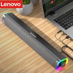 Altavoz envolvente de escritorio Lenovo L101 con subwoofer por sólo 26 euros.