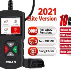 Escáner OBD2 para diagnóstico de vehículos por 23,09€ antes 32,99€.
