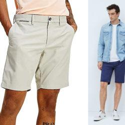 Pantalón corto estilo chino Tommy Hilfiger Brooklyn Short Light desde sólo 26,95€ y Shorts Pepe Jeans Blackburn en azul por 27,50€