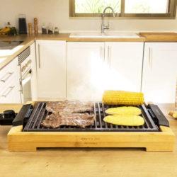 Plancha Cecotec Tasty&Grill 2000 Bamboo LineStone por 31,99€ antes 45,90€.