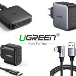 Ofertas en cargadores y cables Ugreen.