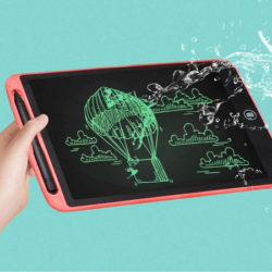 Tableta de escritura LCD resistente a la humedad de 10'' por 4,14€ y de 12'' por 5,54€.