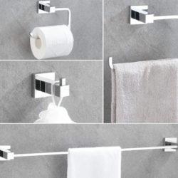 Juego de 4 accesorios de baño por 16,19€ antes 35,99€.