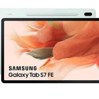 Samsung Galaxy Tab S7 FE de 12,4 pulgadas 128GB Wifi por sólo 434,65€. Antes 699,99€.
