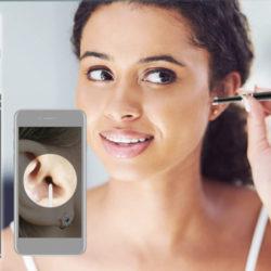 Endoscopio limpiador de oídos 720P con app para smartphones por 9,98€ antes 22,98€.