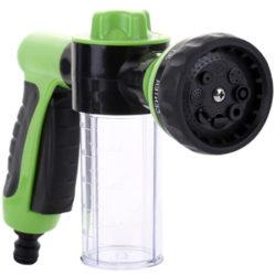 Pistola de agua con deposito para jabón por 9,99€.