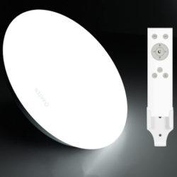 Lámpara de techo led ajustable, 24W, 1920 lumens, 3 temperaturas de color por 15,29€ antes 33,99€.
