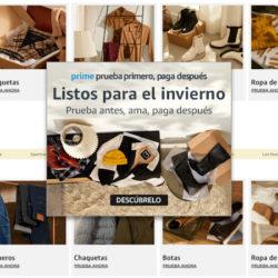 Ahora en Amazon te permiten probar la ropa antes de pagarla