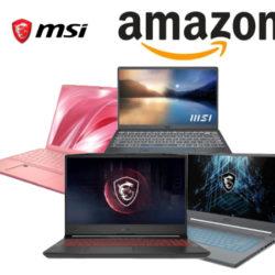 Ahorra hasta 400,00€ al renovar tu portátil con las ofertas de la semana en Amazon de MSI.