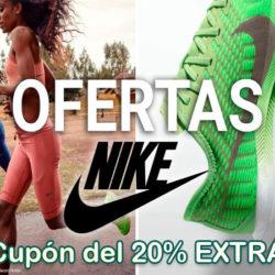 ¡Rebajas en Nike! 2,425 artículos con descuentos de hasta un 40% y además cupón de un 20% extra.