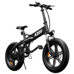 Bicicleta eléctrica fat plegable ADO A20F, 2400W, motor sin escobillas, batería extraible por 987,24€ antes 1299€.